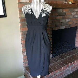 Meadow Rue Embroidered Lace Tulip Dress Sz 4